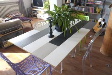 Tavoli in legno artigianali in legno massello