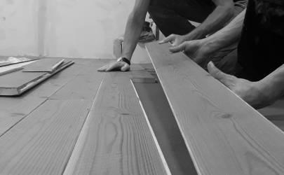 Fastwood: sistema di posa a strappo